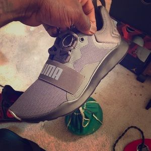 Custom puma shoe